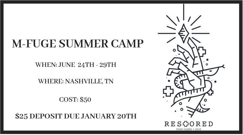 M-Fuge Summer Camp